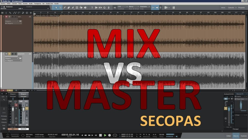 Onix Mastering Studio - MIX vs MASTER - Secopas (small)