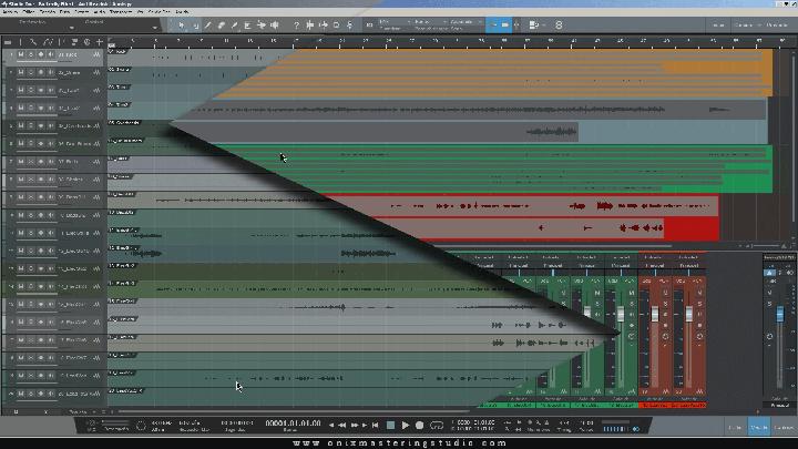 Armado de sesión - Video tutorial de mezcla - MixingSeries - Onix Mastering Studio