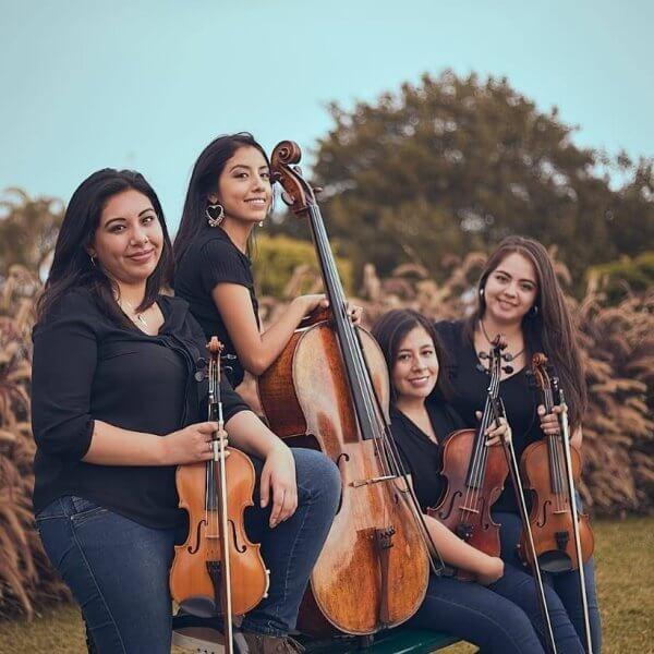 [PE] Faridde Caparó & Blú Quartet, mastered by Diego Hernán Costa